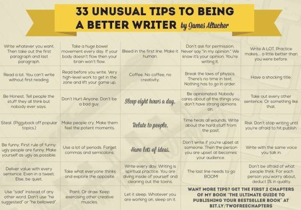 33 unusual tips