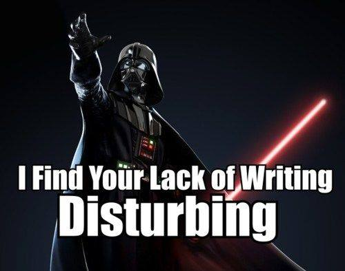 starwars writing